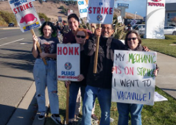 Support Striking Members This Holiday Season